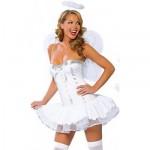 Sexy kostýmek v podobě nevinného anděla